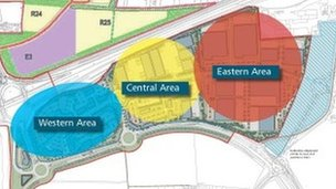The development planned for the edge of Kettering