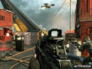Screenshot from Black Ops