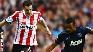 Sunderland midfielder Adam Johnson