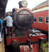 Viceroy Special steam train