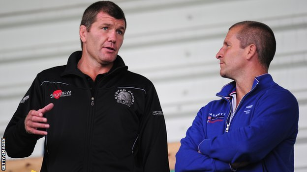 Rob Baxter and Stuart Lancaster