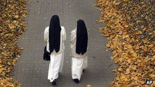 Generic photo of Catholic nuns