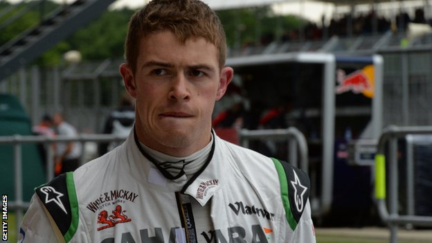 Force India's Paul Di Resta