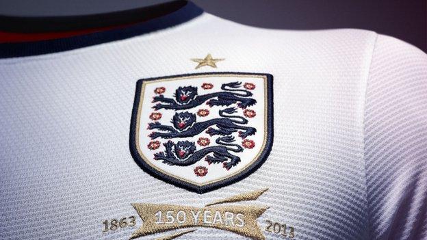England football kit