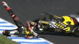 Scott Redding crashes at Phillip Island