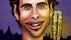Mark Beaumont as a comic character