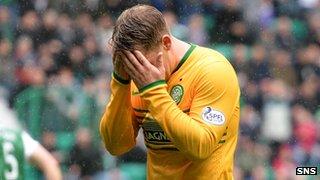Celtic forward Kris Commons