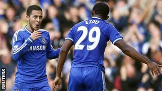 Hazard and Eto'o