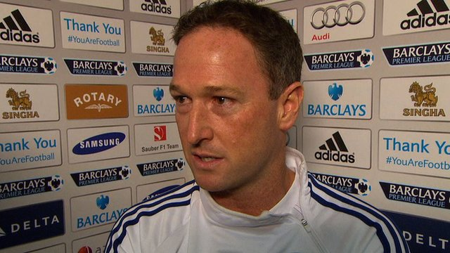 Chelsea's assistant first team coach Steve Holland