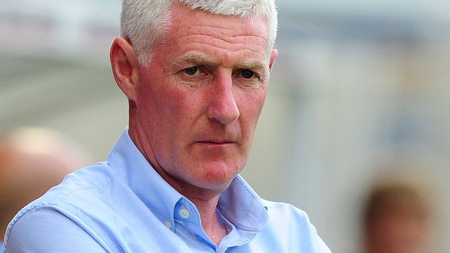 York City manager Nigel Worthington