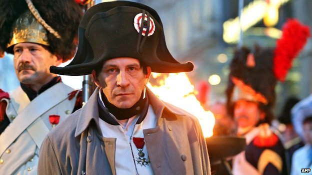 Parisian lawyer Frank Samson is taking on the role of Napoleon