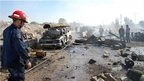 Deadly truck bomb rocks Syrian city