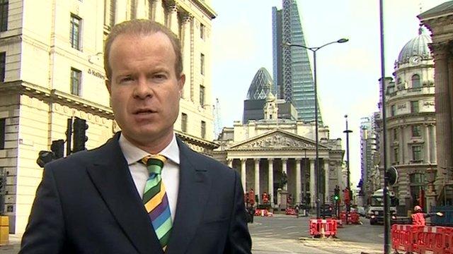 Joe Lynam in the City of London