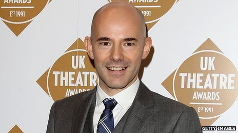 Sheffield Theatres artistic director Daniel Evans