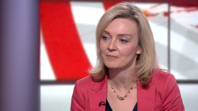 Conservative Education Minister Liz Truss