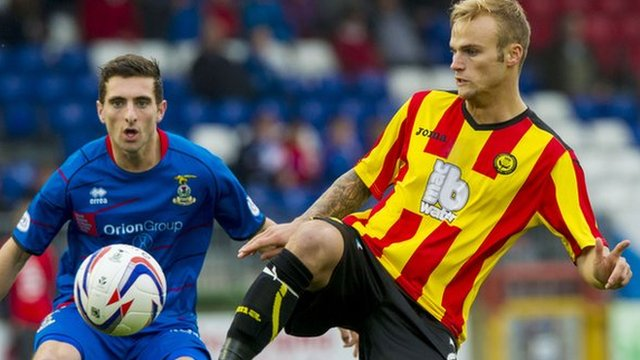 Inverness v Partick Thistle