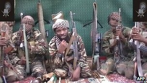 Members of Boko Haram (file image)