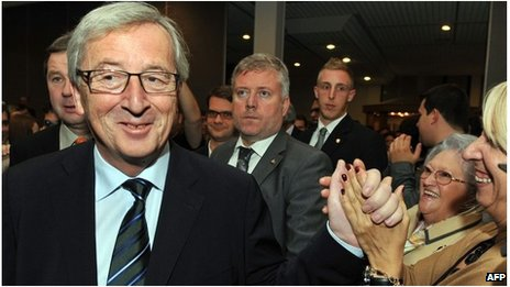 Luxembourg PM Jean-Claude Juncker (20 Oct 2013)