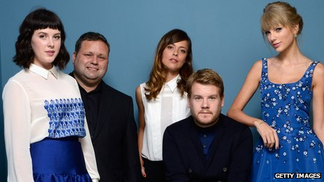 Alexandra Roach, Paul Potts, Valeria Bilello, James Corden and Taylor Swift