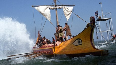 The Argo, re-constructed for TV documentary