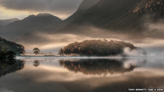 Lakes photo wins landscape award