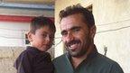 Karim Sadiq and his nephew