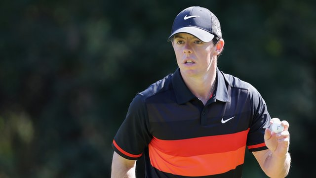 Rory McIlroy at the Korean Open