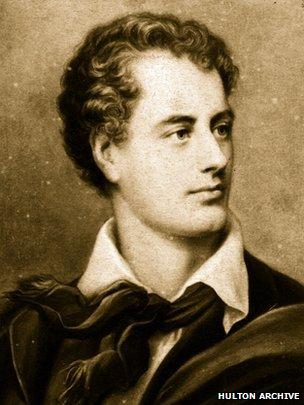Lord Byron circa 1820