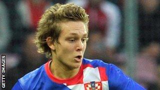 Croatia midfielder Alen Halilovic