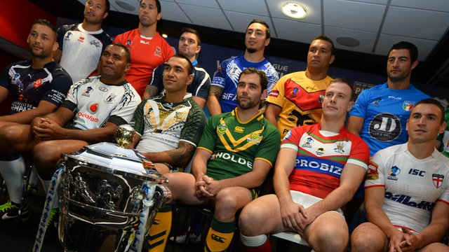 Rugby League World Cup 2013 launch