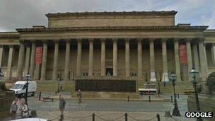 Liverpool's St George's Hall
