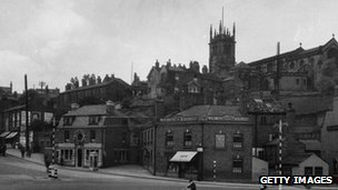 Macclesfield in 1947