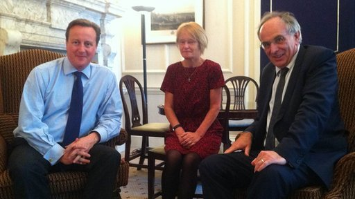 David Cameron, Jeanette Bone, Peter Bone