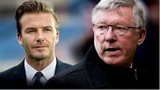 David Beckham and Sir Alex Ferguson