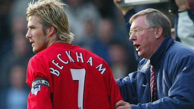 David Beckham, Sir Alex Ferguson