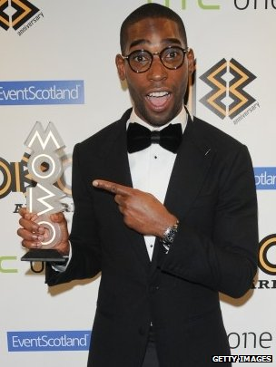 Tinie Tempah wins at the Mobos