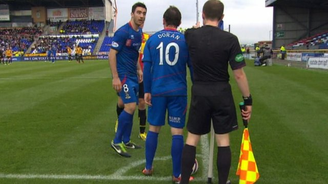 Highlights - Corner causes controversy in Inverness