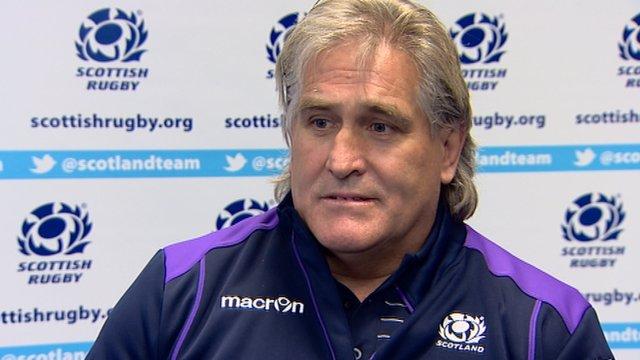 Interview - Scotland interim head coach Scott Johnson