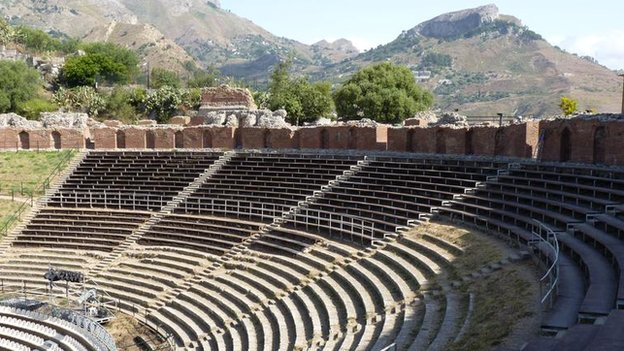 Greek amphitheatre