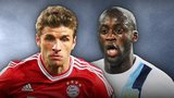 Thomas Muller & Yaya Toure