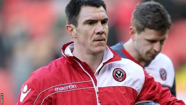 Sheffield United caretaker manager Chris Morgan