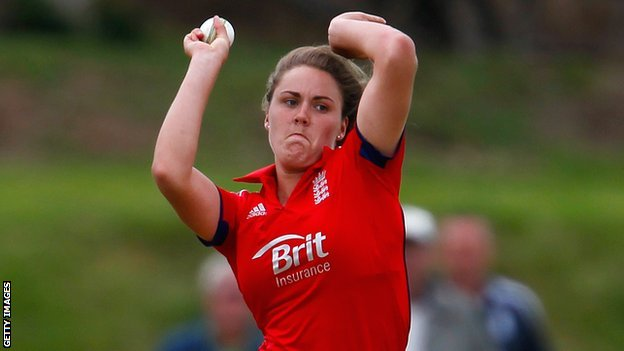 England seamer Natalie Sciver
