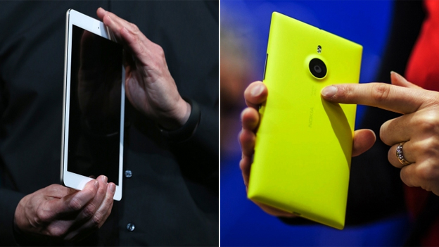 Apple's iPad, Nokia's new smartphone