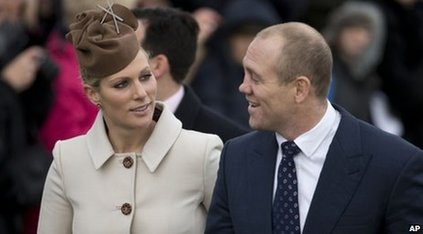 Zara Tindall and Mike Tindall