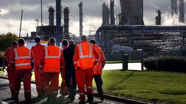 Grangemouth workers