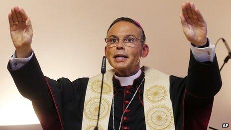 The Bishop of Limburg Franz-Peter Tebartz-van Elst