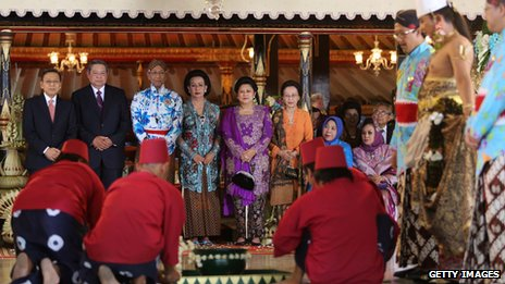Over 750 guests attended the wedding, including President Yudhoyono
