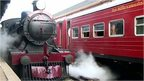 The Viceroy Special steam engine in Sri Lanka