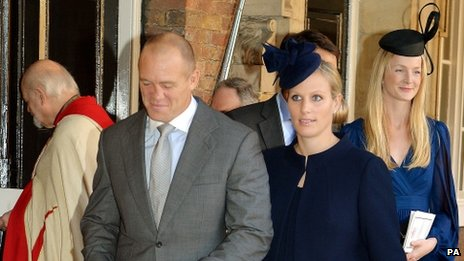 Mike and Zara Tindall