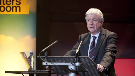 Tony Hall at the Theatre-Broadcast conference